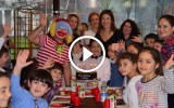 Ay Yıldız Ayvalık Mağaza Müdürü Hülya Hanım, oğlu Keremin doğum gününü Çam Otelde kutladı